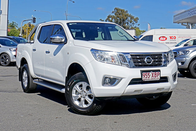 Used Nissan Navara D23 S2 ST, 2017 Nissan Navara D23 S2 ST White 6 Speed Manual Utility