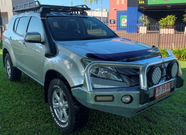 Used Isuzu MU-X MY15 LS-U Rev-Tronic, 2014 Isuzu MU-X MY15 LS-U Rev-Tronic Silver 5 Speed Sports Automatic Wagon