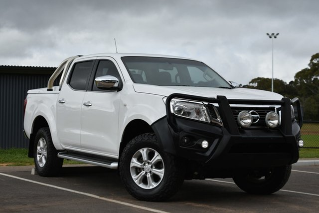 Used Nissan Navara D23 ST, 2016 Nissan Navara D23 ST White 6 Speed Manual Utility