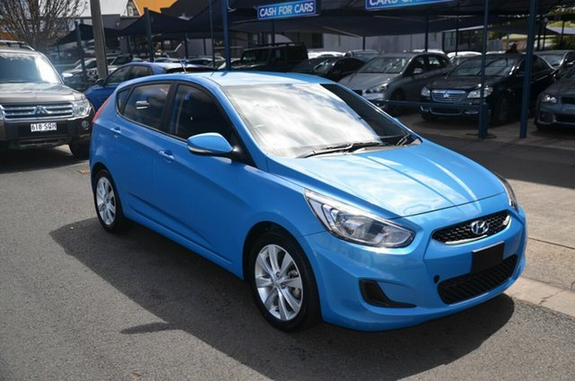 Used Hyundai Accent RB6 MY19 Sport Toowoomba, 2019 Hyundai Accent RB6 MY19 Sport Blue 6 Speed Automatic Hatchback