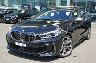 2019 BMW M135i F40 xDrive Black Sapphire 8 Speed Auto Sports Mode Hatchback.
