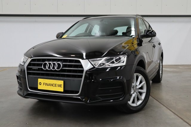 Used Audi Q3 8U MY18 TDI S Tronic Quattro, 2017 Audi Q3 8U MY18 TDI S Tronic Quattro Black 7 Speed Sports Automatic Dual Clutch Wagon