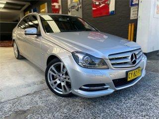 2011 Mercedes-Benz C-Class W204 C250 CDI BlueEFFICIENCY Avantgarde Iridium Silver Sports Automatic.