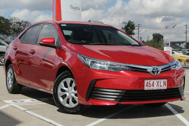 Used Toyota Corolla ZRE172R Ascent S-CVT, 2017 Toyota Corolla ZRE172R Ascent S-CVT Wildfire 7 Speed Constant Variable Sedan