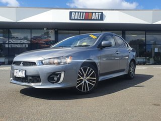 2016 Mitsubishi Lancer CF MY16 GSR Grey 6 Speed Constant Variable Sedan.
