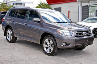 2009 Toyota Kluger GSU45R KX-S AWD Grey 5 Speed Sports Automatic Wagon.