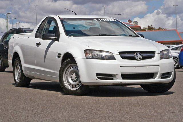 Used Holden Ute VE MY10 Omega, 2010 Holden Ute VE MY10 Omega White 4 Speed Automatic Utility