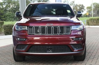 2020 Jeep Grand Cherokee WK MY20 S-Limited Velvet Red 8 Speed Sports Automatic Wagon