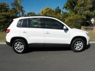 2008 Volkswagen Tiguan TDI White Automatic Wagon