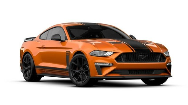 New Ford Mustang FN 2020MY R-Spec, 2020 Ford Mustang FN 2020MY R-Spec Twister Orange 6 Speed Manual Fastback