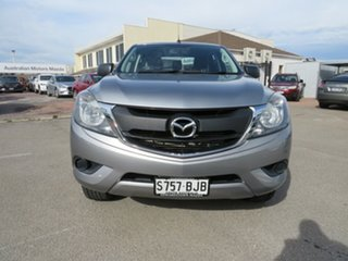 2015 Mazda BT-50 UP0YF1 XT 4x2 Hi-Rider Silver 6 Speed Sports Automatic Utility.