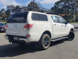 2012 Mazda BT-50 UP0YF1 XTR White 6 Speed Sports Automatic Utility