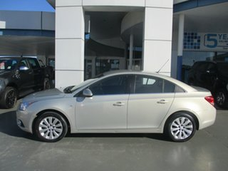 2011 Holden Cruze JH CDX Gold 6 Speed Automatic Sedan.