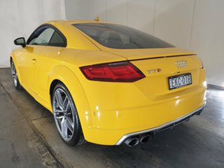 2015 Audi TTS FV MY16 S Tronic Quattro Vegas Yellow 6 Speed Sports Automatic Dual Clutch Coupe
