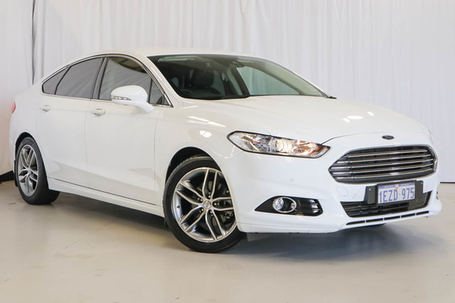 Used Ford Mondeo MD Trend, 2016 Ford Mondeo MD Trend White 6 Speed Sports Automatic Hatchback
