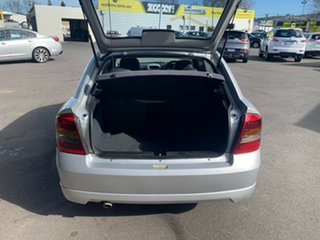 2003 Holden Astra TS MY03 SRI Turbo Silver 5 Speed Manual Hatchback