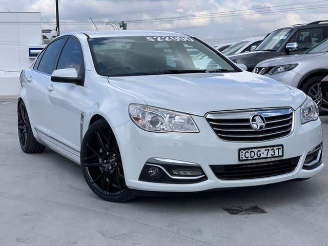Used Holden Calais VF MY14 Liverpool, 2013 Holden Calais VF MY14 White 6 Speed Sports Automatic Sedan
