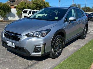 2020 Subaru XV G5X MY20 Hybrid Lineartronic AWD Ice Silver 7 Speed Constant Variable Wagon Hybrid.