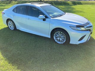 2019 Toyota Camry AXVH71R SL Frosted White 6 Speed Constant Variable Sedan Hybrid
