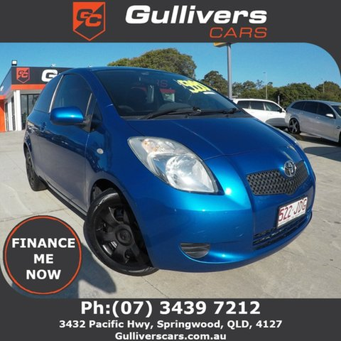 Used Toyota Yaris  YRS, 2005 Toyota Yaris 90 SERIES YRS Blue 4 Speed Automatic Hatchback