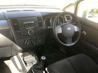 2007 Nissan Tiida C11 MY07 ST-L Beige 6 Speed Manual Sedan