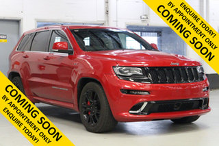 2013 Jeep Grand Cherokee WK MY14 SRT 8 (4x4) Red 8 Speed Automatic Wagon.