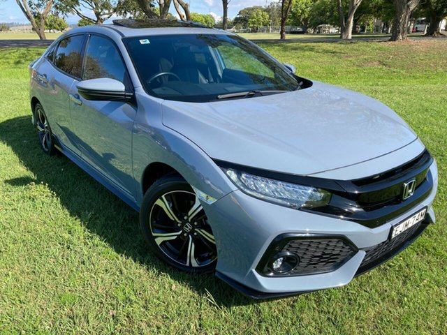 Used Honda Civic 10th Gen MY17 RS, 2017 Honda Civic 10th Gen MY17 RS Grey 1 Speed Constant Variable Hatchback