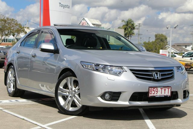 Used Honda Accord 9th Gen MY14 VTi-L, 2014 Honda Accord 9th Gen MY14 VTi-L Silver 5 Speed Sports Automatic Sedan