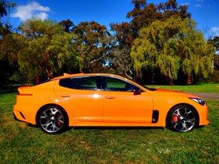 2019 Kia Stinger CK MY20 GT Fastback Neon Orange 8 Speed Automatic Sedan