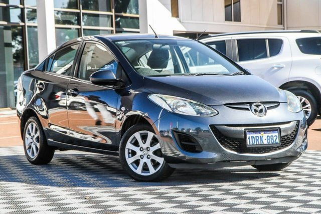 Used Mazda 2 DE10Y1 MY10 Maxx, 2010 Mazda 2 DE10Y1 MY10 Maxx Grey 4 Speed Automatic Sedan