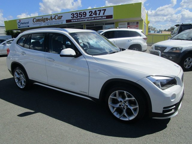 Used BMW X1 E84 MY0314 sDrive18d, 2014 BMW X1 E84 MY0314 sDrive18d White 8 Speed Sports Automatic Wagon
