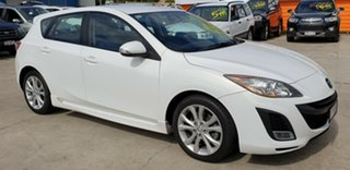 2010 Mazda 3 BL10L1 SP25 Activematic White 5 Speed Sports Automatic Hatchback.