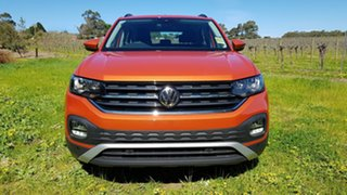 2020 Volkswagen T-Cross C1 MY20 85TSI DSG FWD Life Energetic Orange 7 Speed.