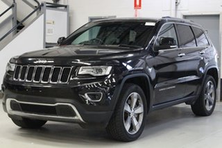 2017 Jeep Grand Cherokee WK MY15 Limited (4x4) Black 8 Speed Automatic Wagon.