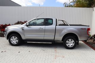 2018 Ford Ranger PX MkII 2018.00MY XLT Super Cab Silver 6 Speed Sports Automatic Utility