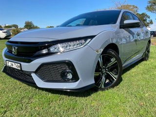 2017 Honda Civic 10th Gen MY17 RS Grey 1 Speed Constant Variable Hatchback.