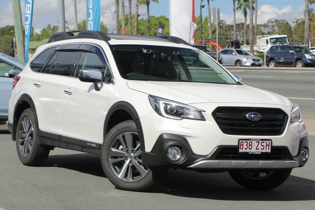 Demo Subaru Outback B6A MY20 2.5i CVT AWD Sports Premium, 2019 Subaru Outback B6A MY20 2.5i CVT AWD Sports Premium White Crystal 7 Speed Constant Variable