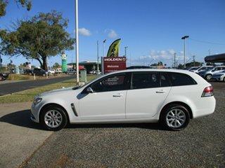 2015 Holden Commodore VF MY15 Evoke Sportwagon White 6 Speed Sports Automatic Wagon.