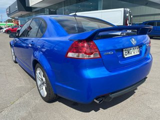 2010 Holden Commodore VE MY10 SV6 Blue 6 Speed Sports Automatic Sedan