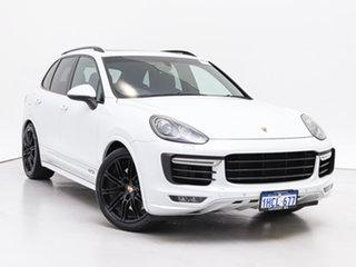 2015 Porsche Cayenne Series 2 MY15 GTS Carrara White 8 Speed Automatic Tiptronic Wagon.