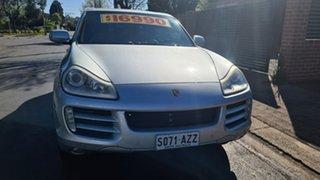 2007 Porsche Cayenne 9PA MY07 Silver 6 Speed Sports Automatic Wagon