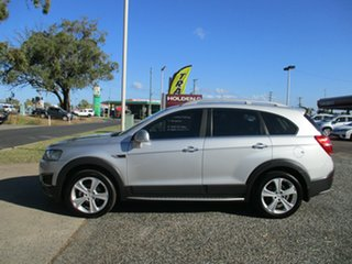 2014 Holden Captiva CG MY15 5 AWD LTZ Silver 6 Speed Sports Automatic Wagon.