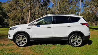 2018 Ford Escape ZG 2018.75MY Titanium White 6 Speed Sports Automatic Dual Clutch SUV