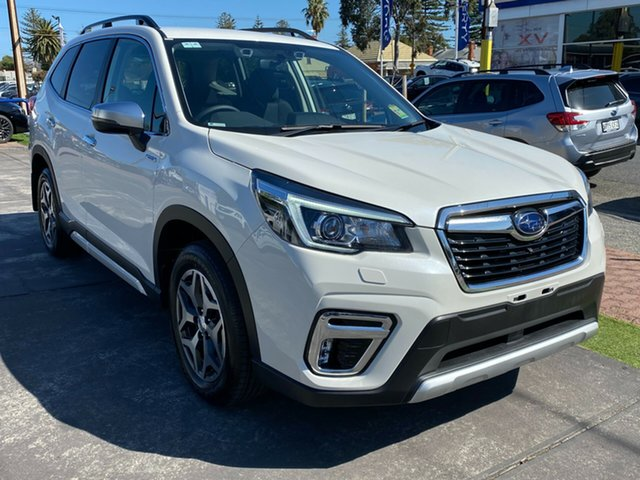New Subaru Forester S5 MY20 Hybrid L CVT AWD, 2020 Subaru Forester S5 MY20 Hybrid L CVT AWD Crystal White 7 Speed Constant Variable Wagon Hybrid