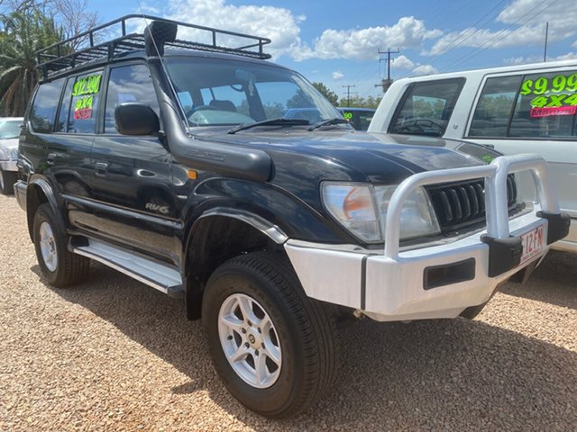 Used Toyota Landcruiser Prado VZJ95R GXL Pinelands, 1996 Toyota Landcruiser Prado VZJ95R GXL 5 Speed Manual Wagon