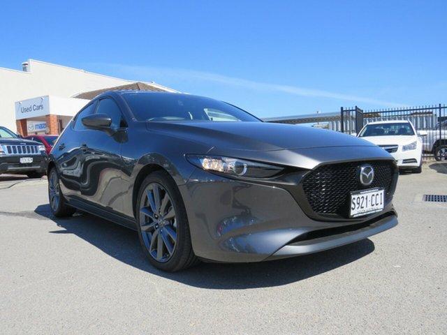 Used Mazda 3 BP2HLA G25 SKYACTIV-Drive GT, 2019 Mazda 3 BP2HLA G25 SKYACTIV-Drive GT Grey 6 Speed Sports Automatic Hatchback