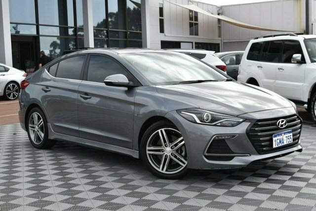 Used Hyundai Elantra AD MY18 SR DCT Turbo, 2018 Hyundai Elantra AD MY18 SR DCT Turbo Grey 7 Speed Sports Automatic Dual Clutch Sedan