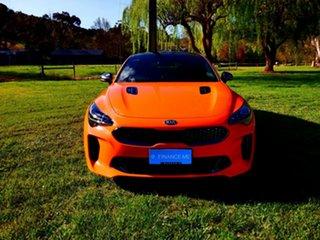 2019 Kia Stinger CK MY20 GT Fastback Neon Orange 8 Speed Automatic Sedan.