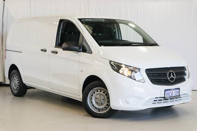 Used Mercedes-Benz Vito 447 111CDI SWB, 2017 Mercedes-Benz Vito 447 111CDI SWB White 6 Speed Manual Van