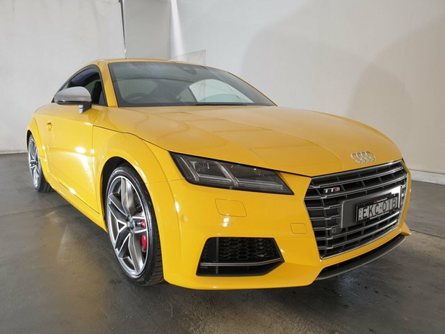 Used Audi TTS FV MY16 S Tronic Quattro, 2015 Audi TTS FV MY16 S Tronic Quattro Vegas Yellow 6 Speed Sports Automatic Dual Clutch Coupe